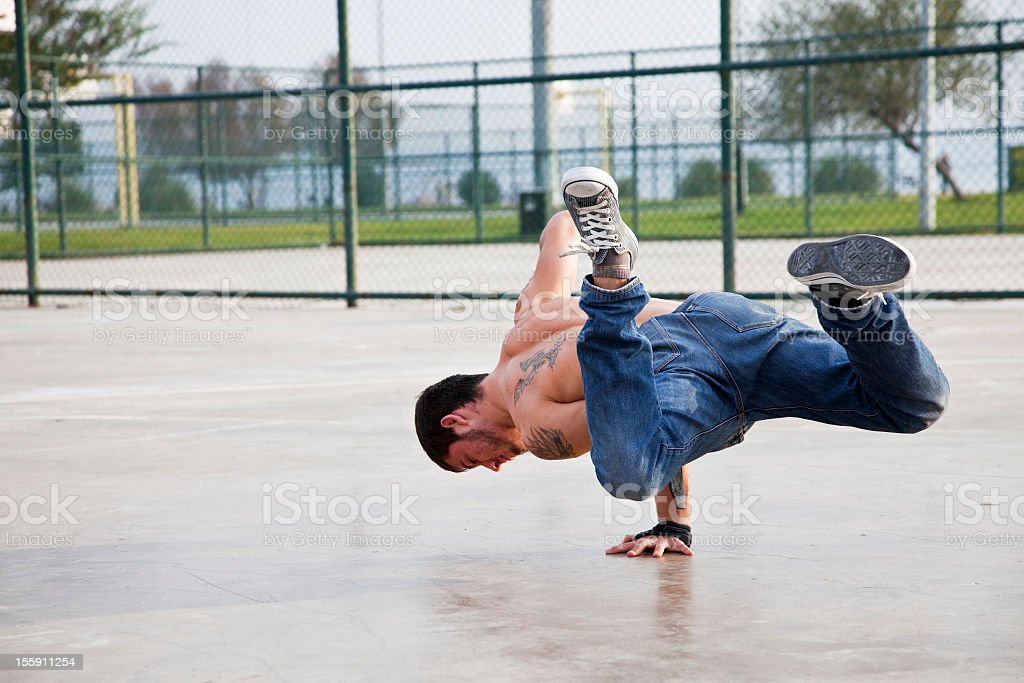 Street Dance royalty-free stock photo