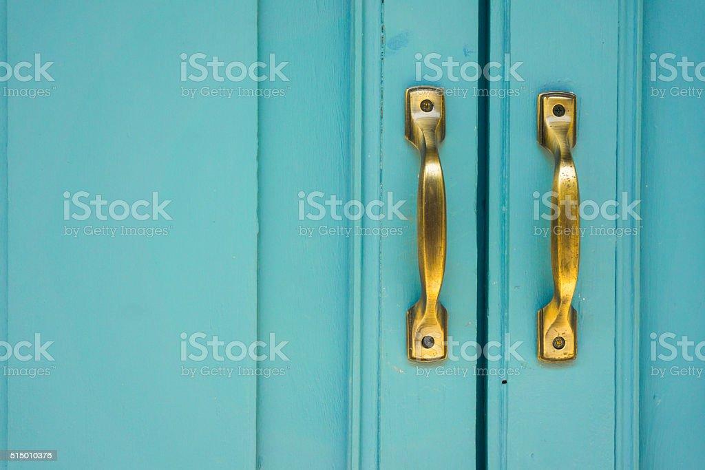 Street door stock photo