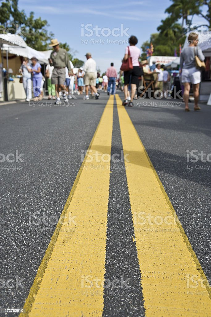 Street Fair royalty-free stock photo
