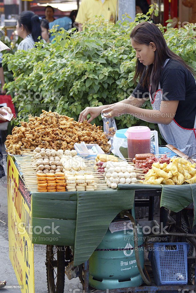 Street food royalty-free stock photo