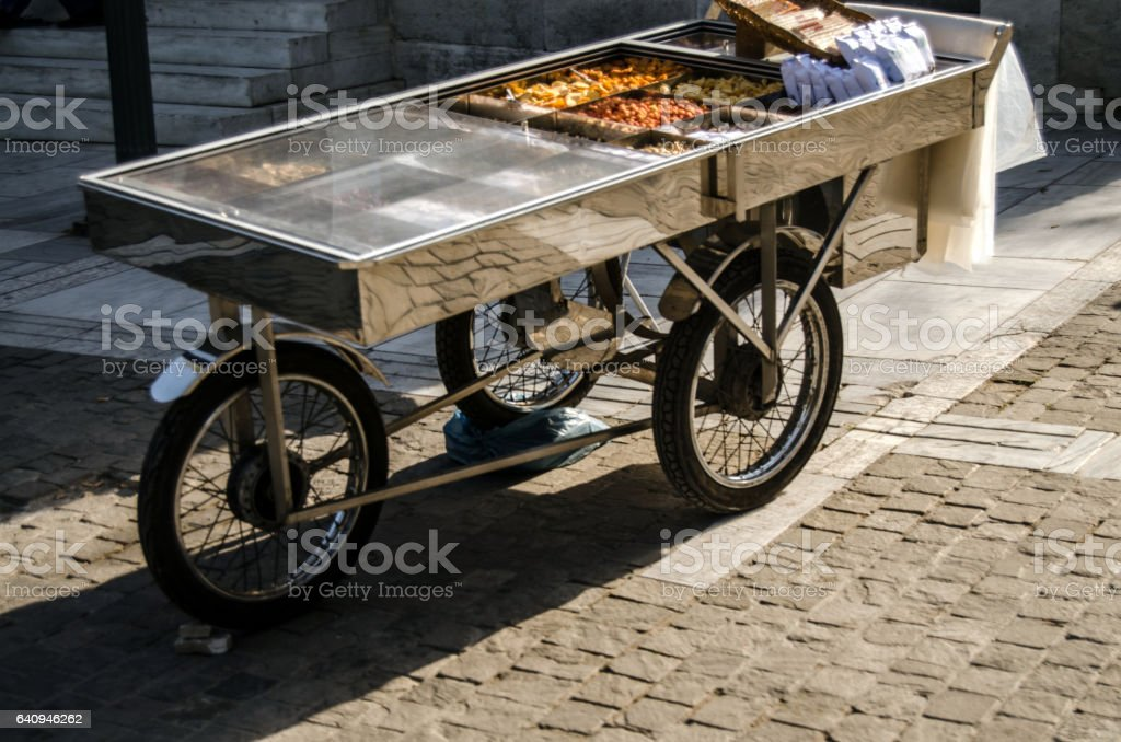 Street food stock photo