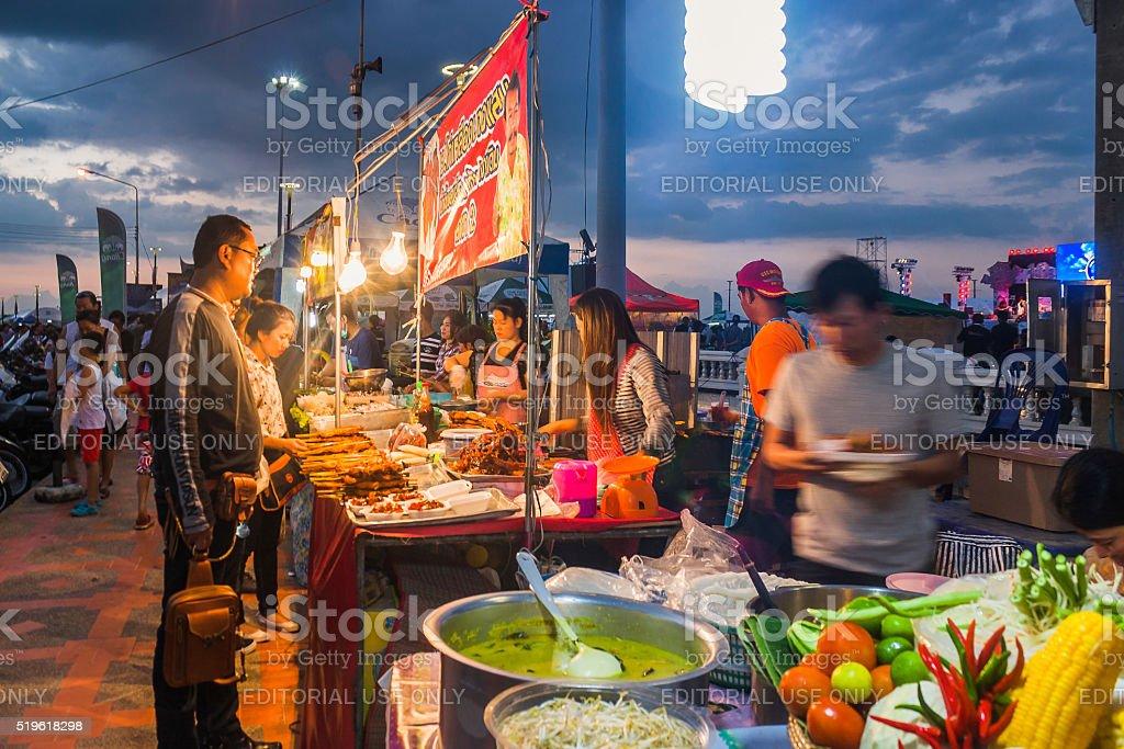 Street Food Vendors stock photo
