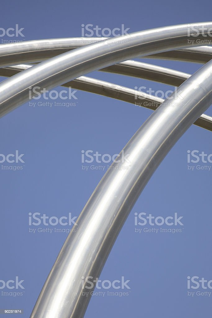 Street Furniture Structure 1 royalty-free stock photo