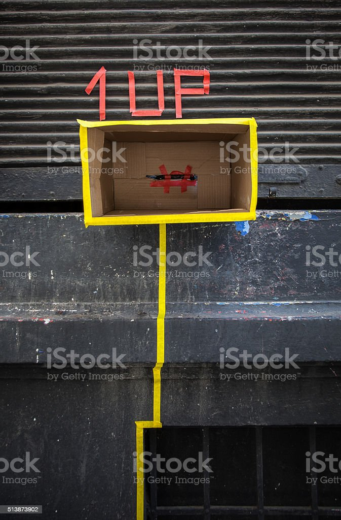 street game stock photo