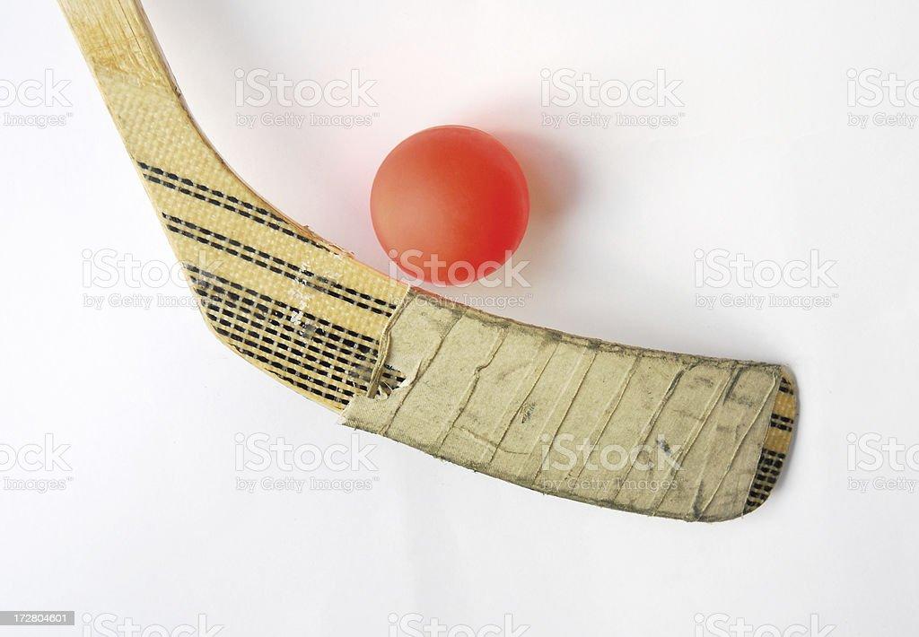 Street Hockey stock photo