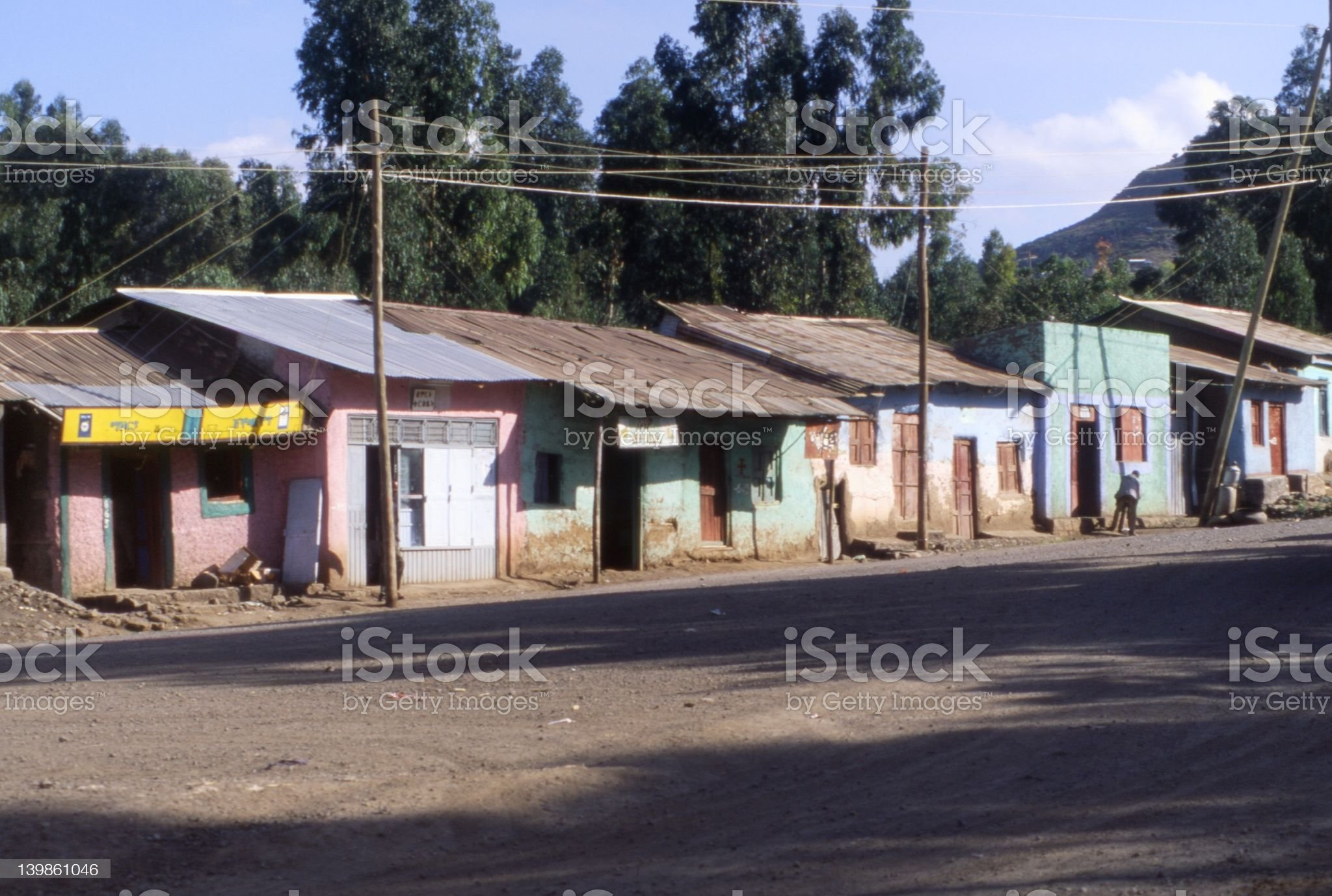 Street in Africa royalty-free stock photo