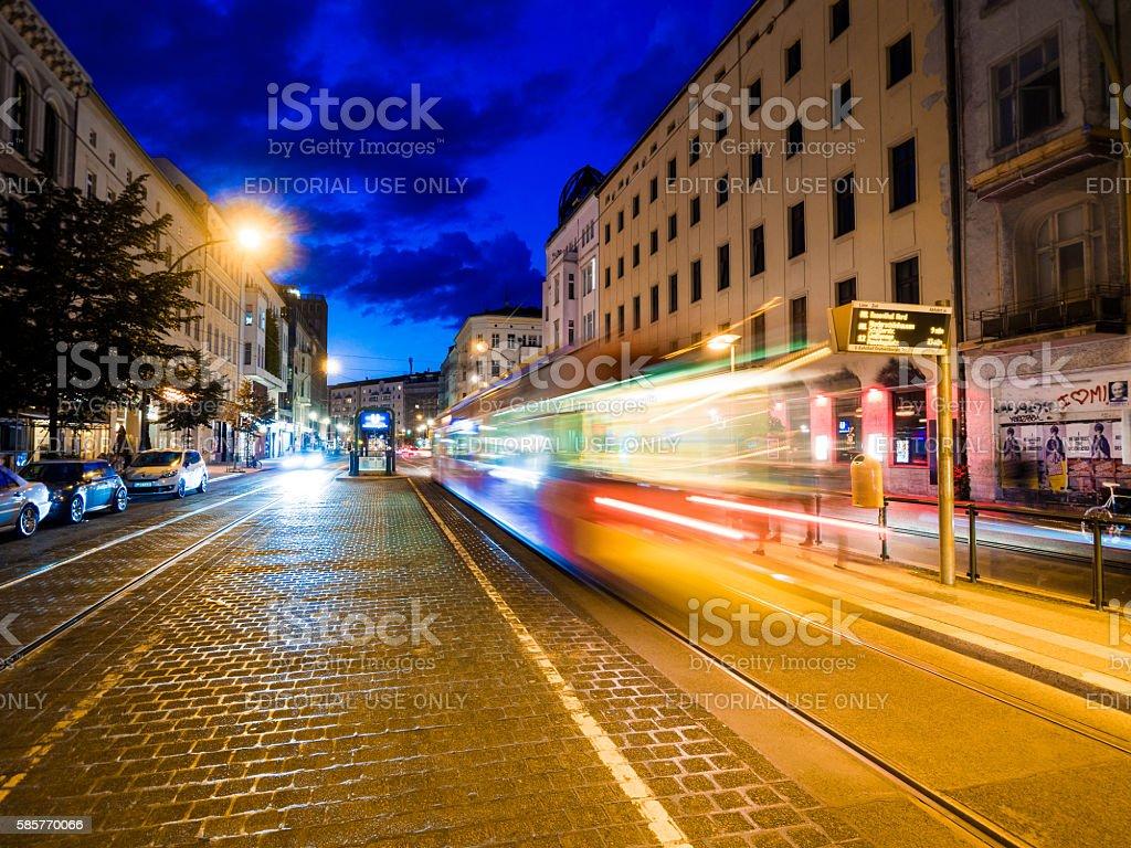 Street in Berlin, Germany stock photo