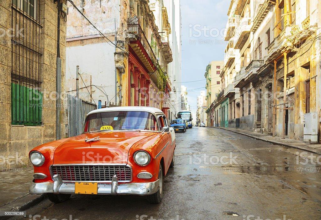 Street in Havana, Cuba stock photo