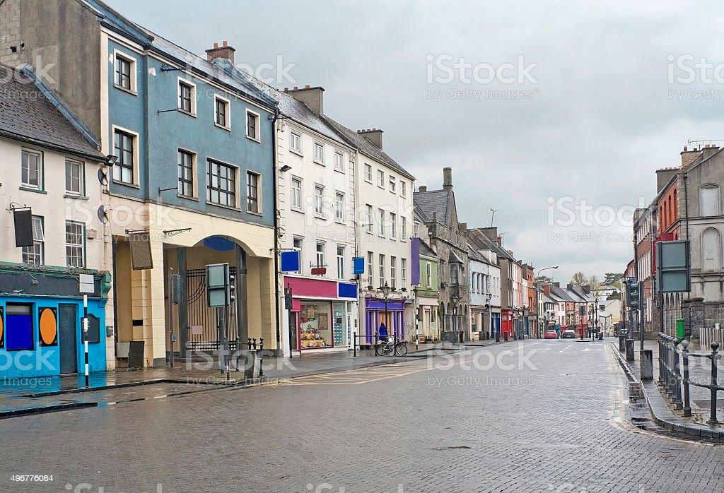 Street in Kilkenny, Ireland stock photo