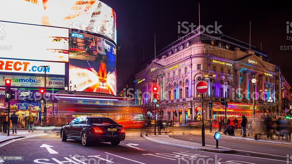 Street in London, United Kingdom stock photo