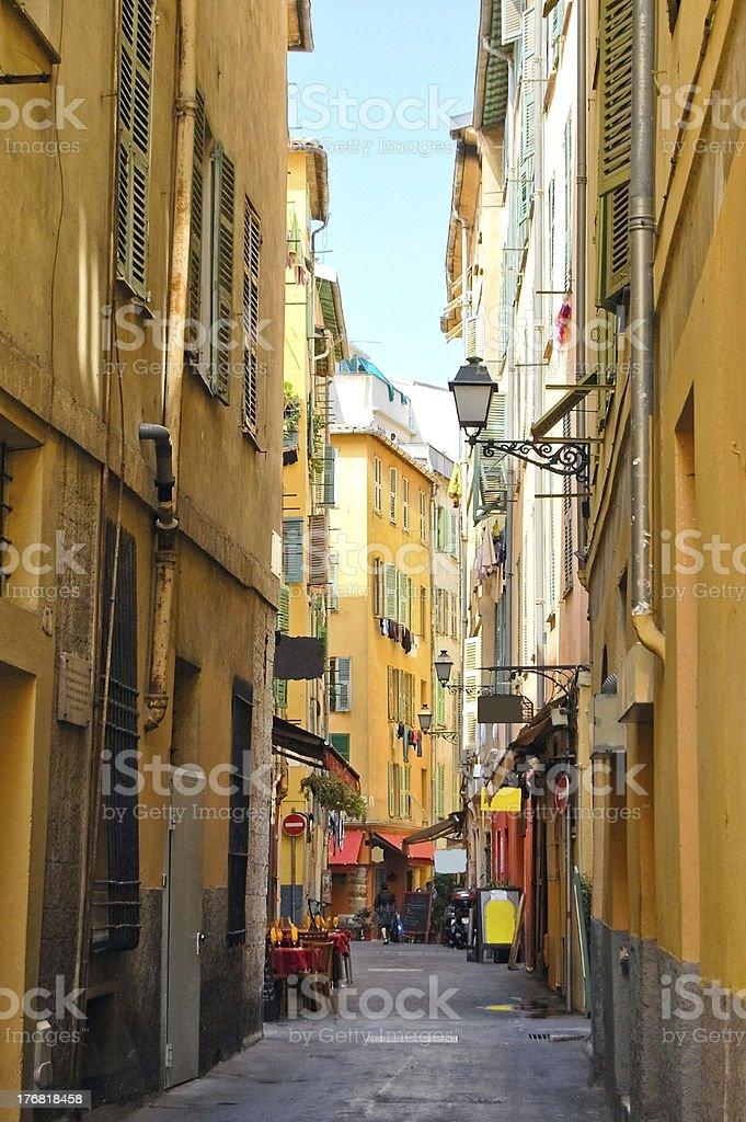 street in Nice royalty-free stock photo