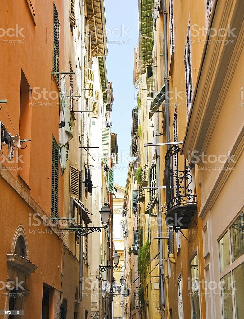 street in Nice royalty-free stock photo
