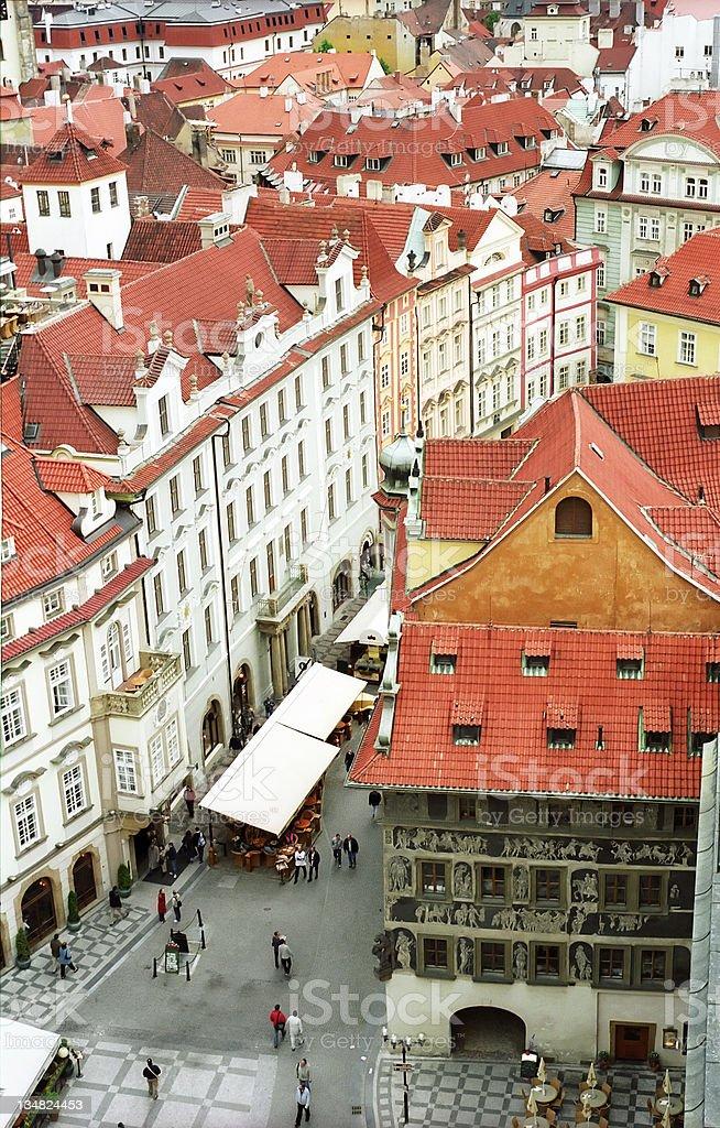 Rue de Prague photo libre de droits