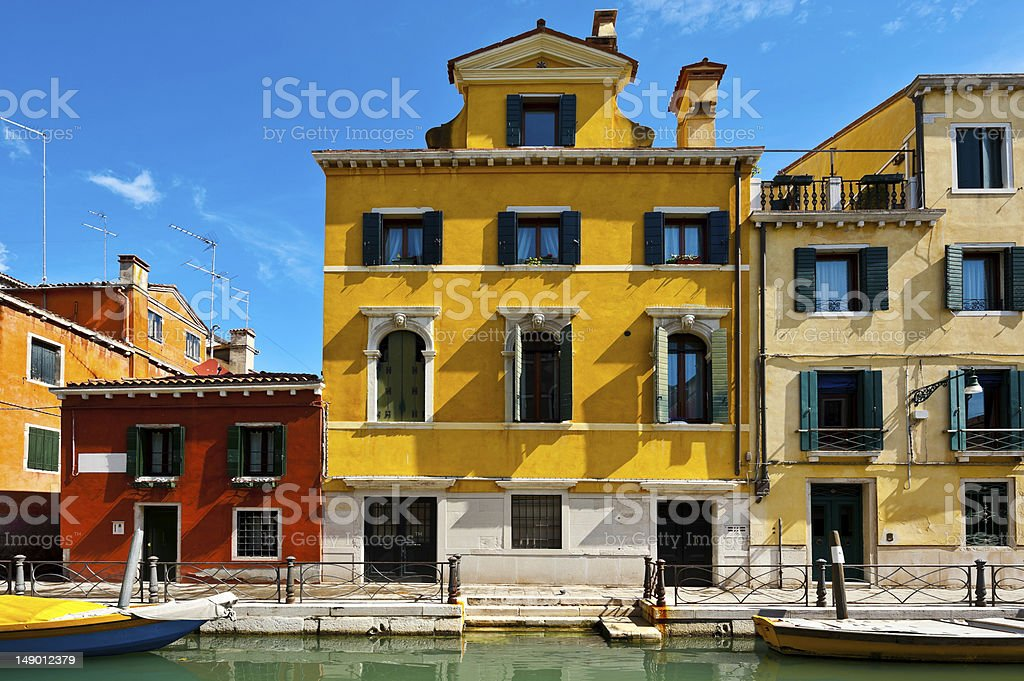 Street in Venice royalty-free stock photo