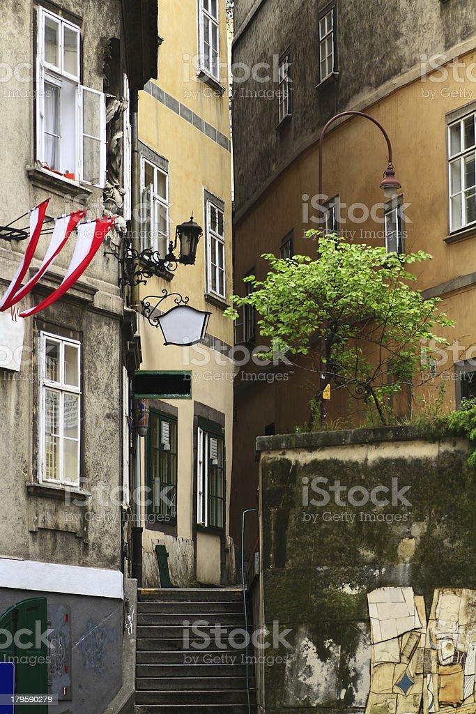 Street in Vienna royalty-free stock photo
