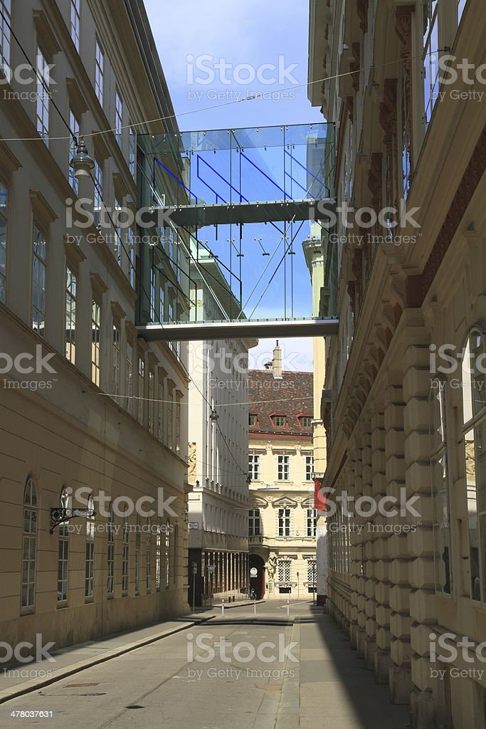 Street in Vienna royalty-free stock photo