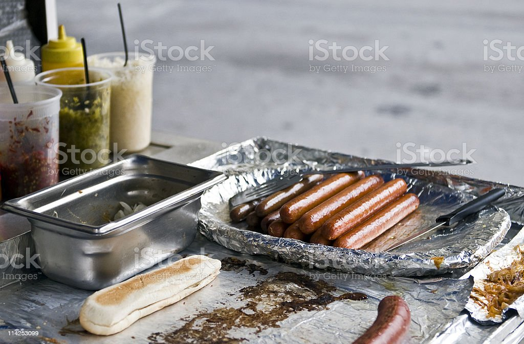 Street Junk Food royalty-free stock photo