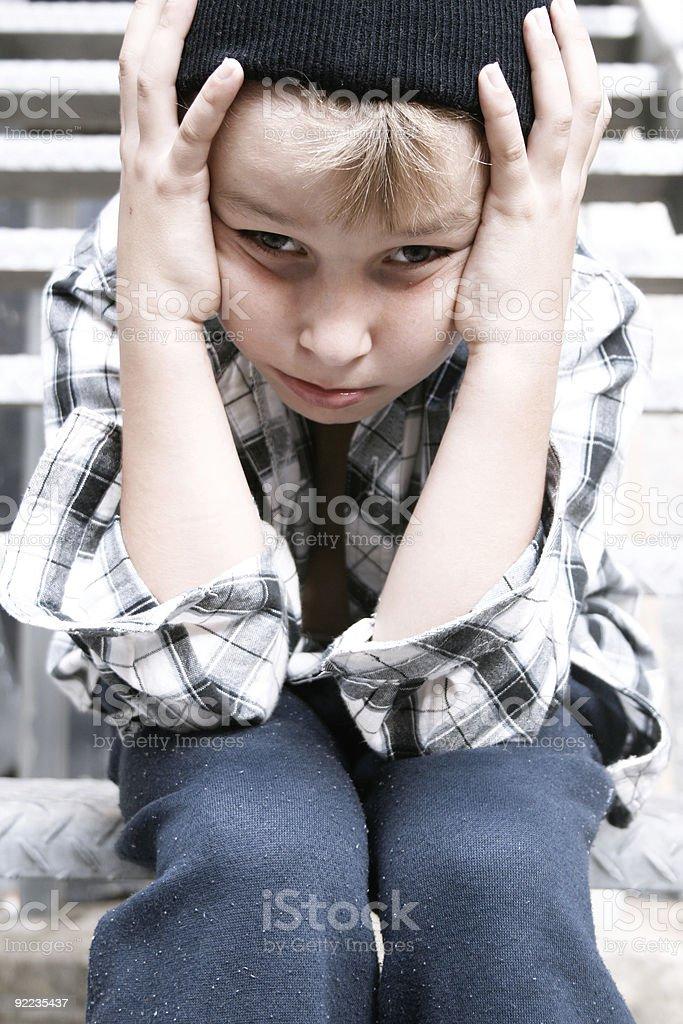 Street kid royalty-free stock photo