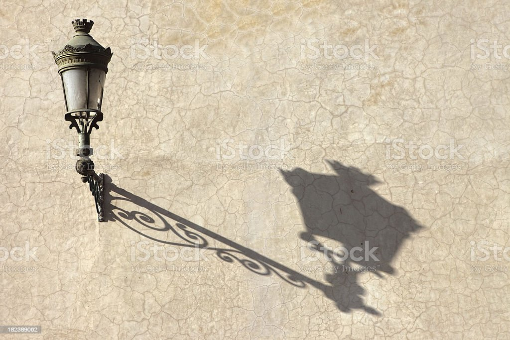 Street Lamp, Marrakesh, Morocco stock photo