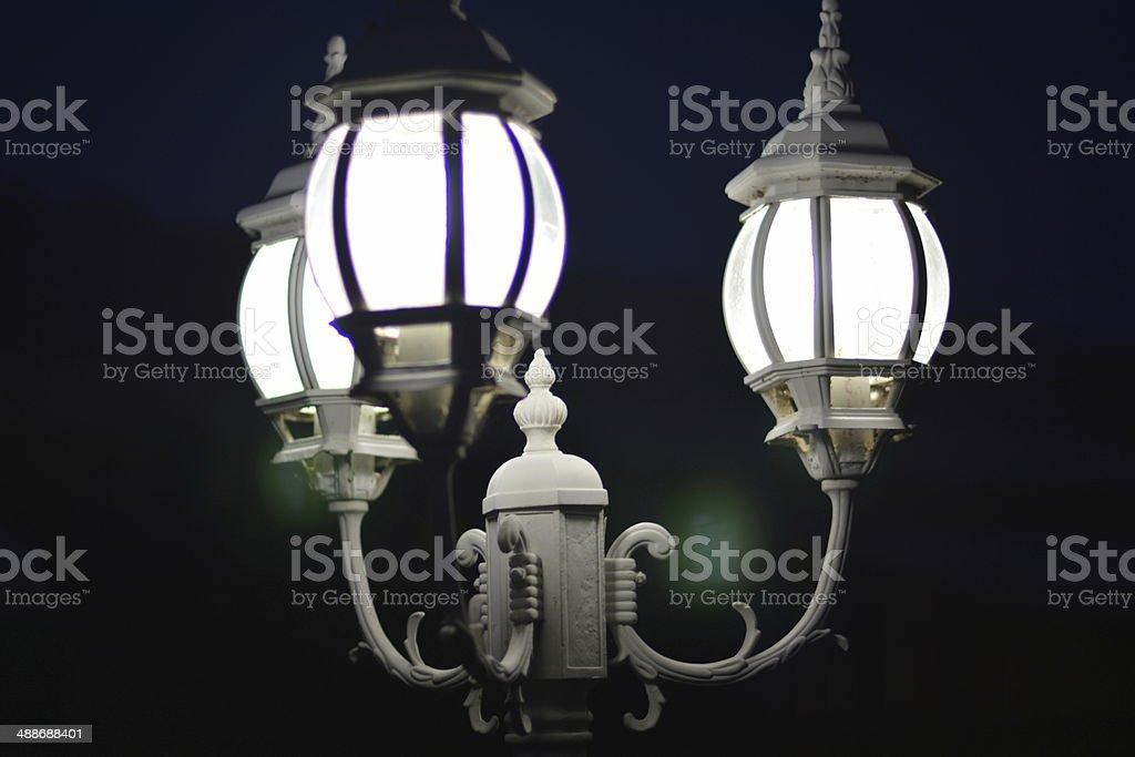 street lamp named desire stock photo
