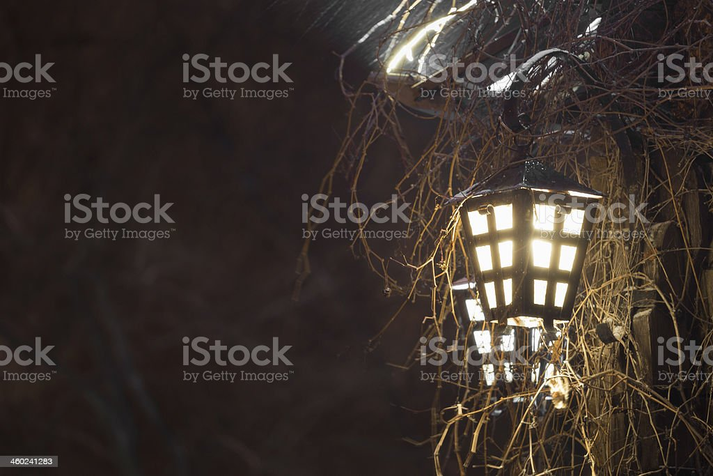 Street lamp royalty-free stock photo