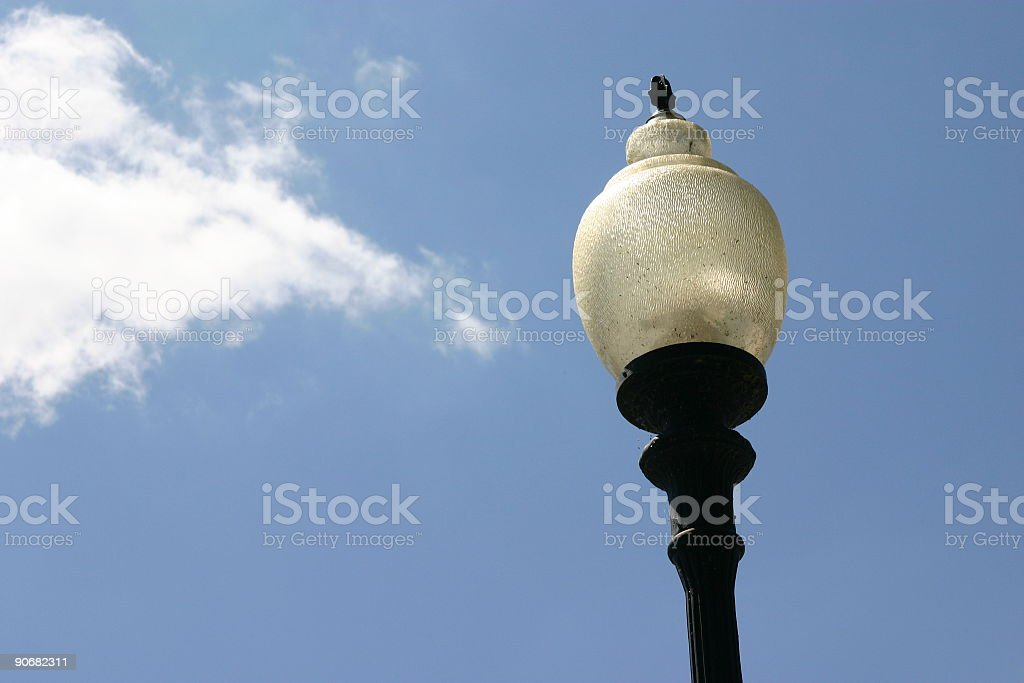 Street Lamp with Sky royalty-free stock photo