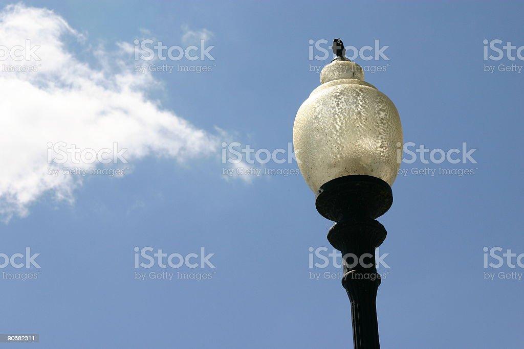 Street Lamp with Sky stock photo