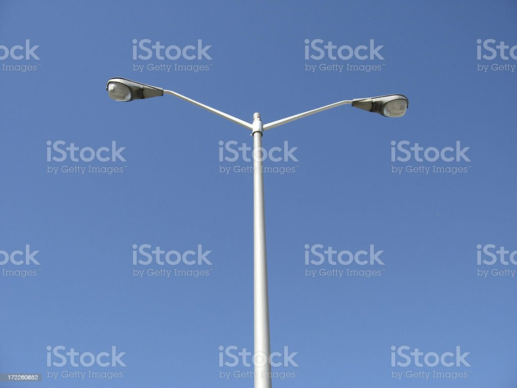 Street Lamps royalty-free stock photo