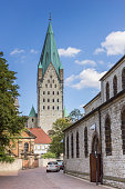 Street leading to the Paderborn Dom
