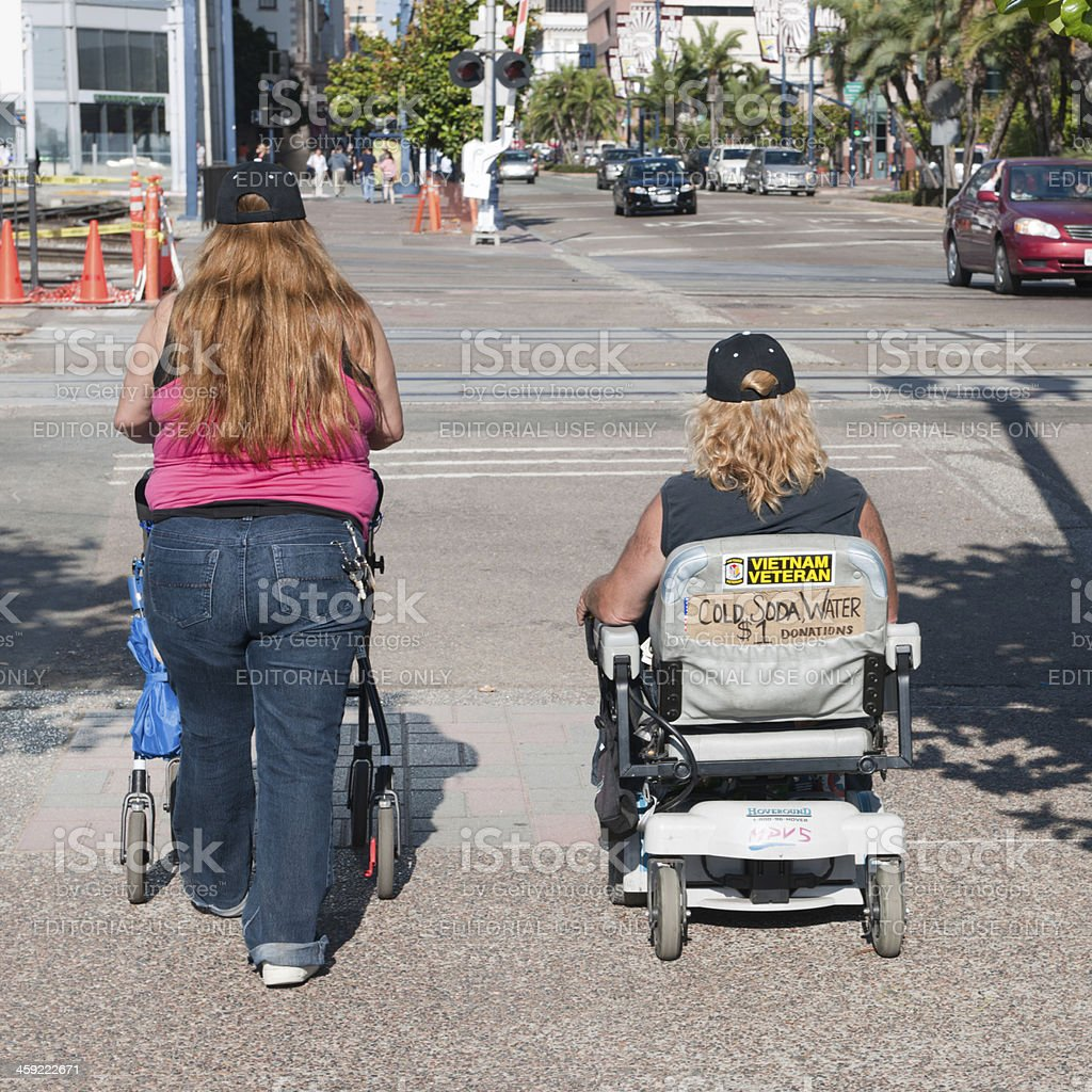 Street Life in the USA royalty-free stock photo