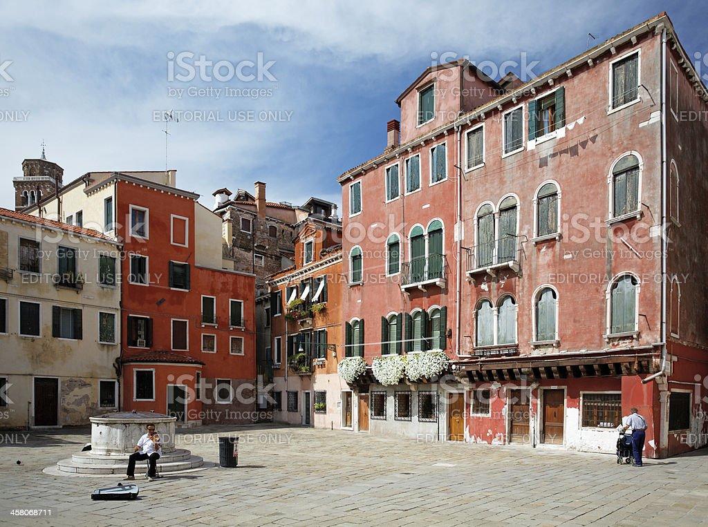street life in Venice royalty-free stock photo