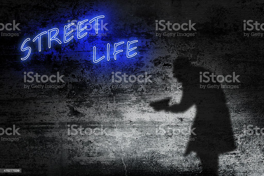 Street life royalty-free stock photo