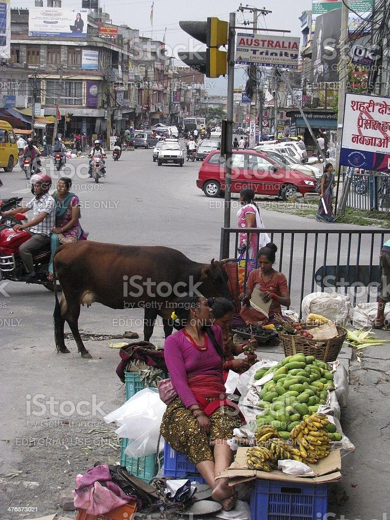 Street Life stock photo