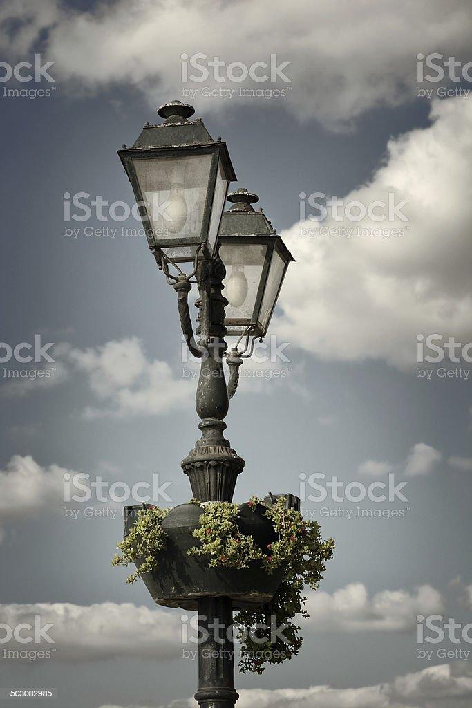 Street Light and Sky royalty-free stock photo