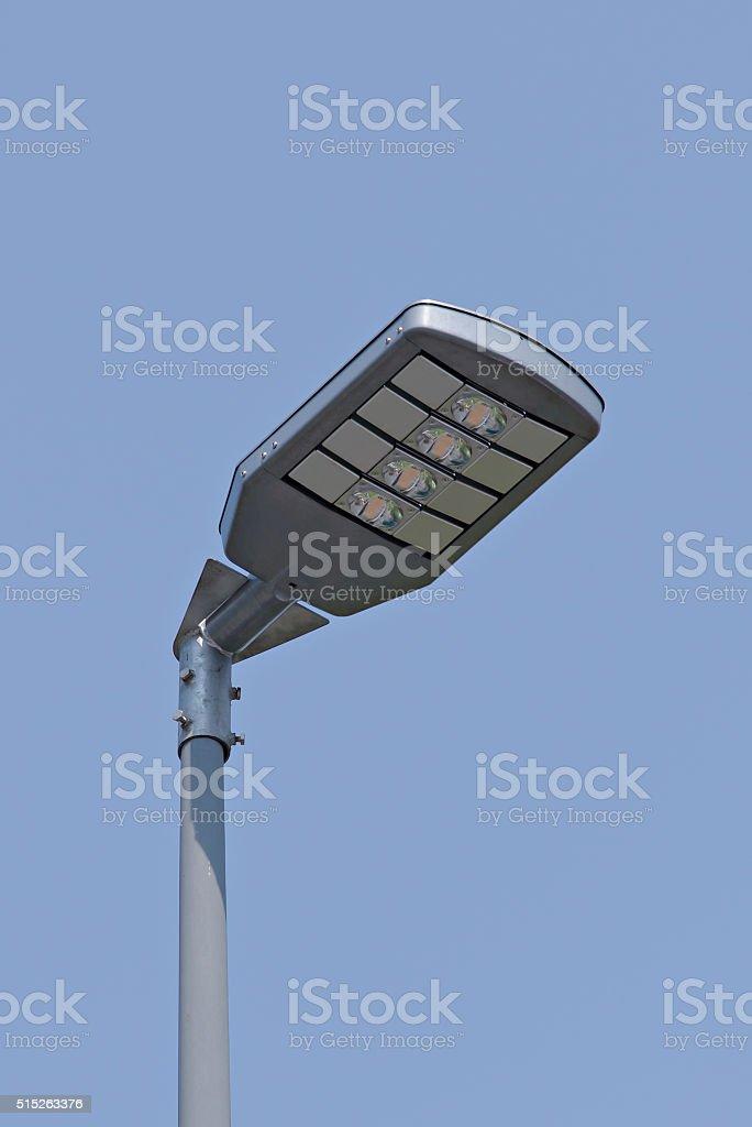 LED Street light , Energy saving Lamp stock photo