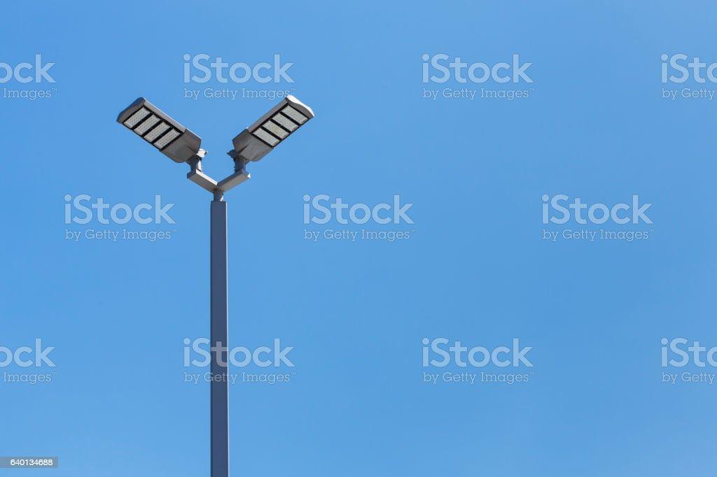 LED street light stock photo