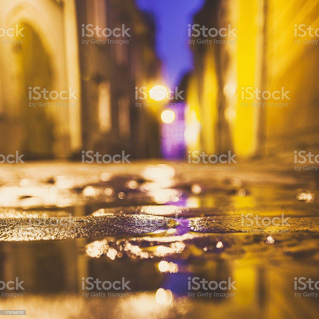 Street lights. stock photo