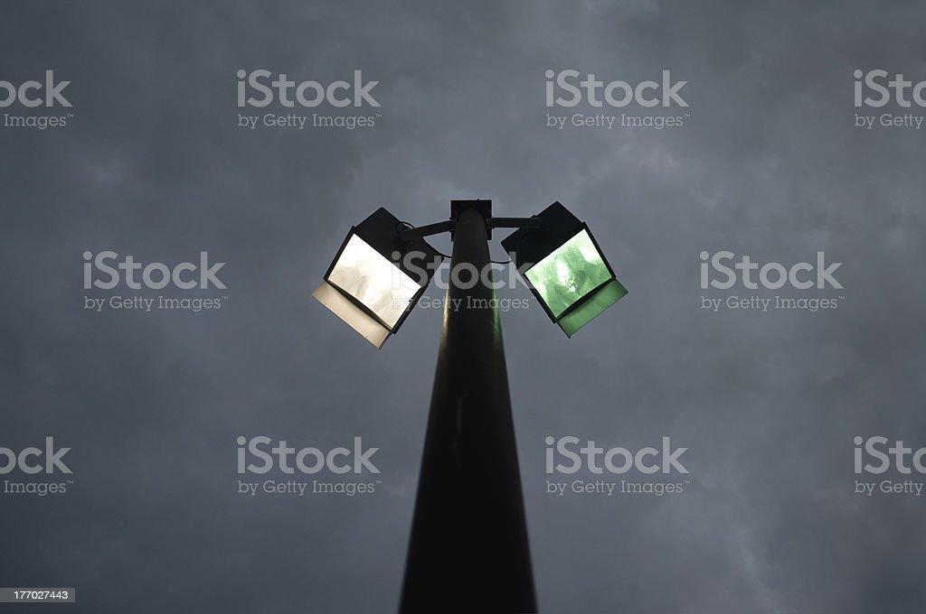 Street Lights royalty-free stock photo