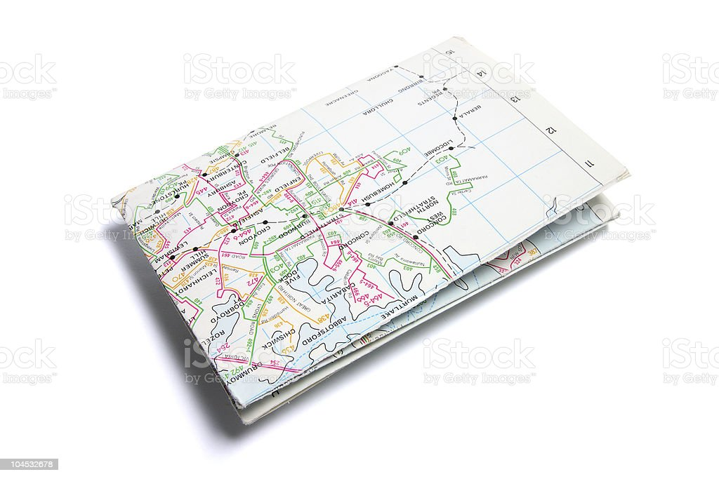 Street Map stock photo