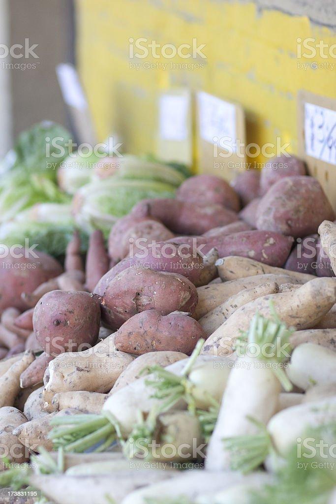 Street market, fresh produce. royalty-free stock photo