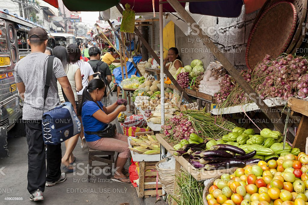 Street market royalty-free stock photo
