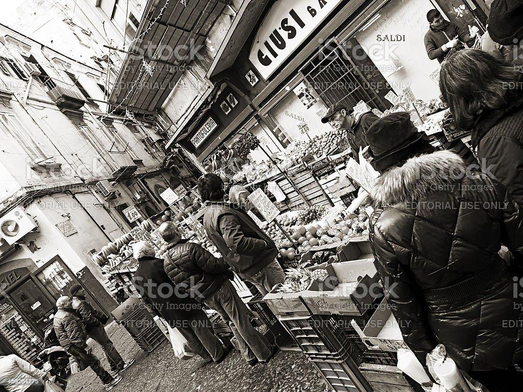 Street market royalty-free stock photo