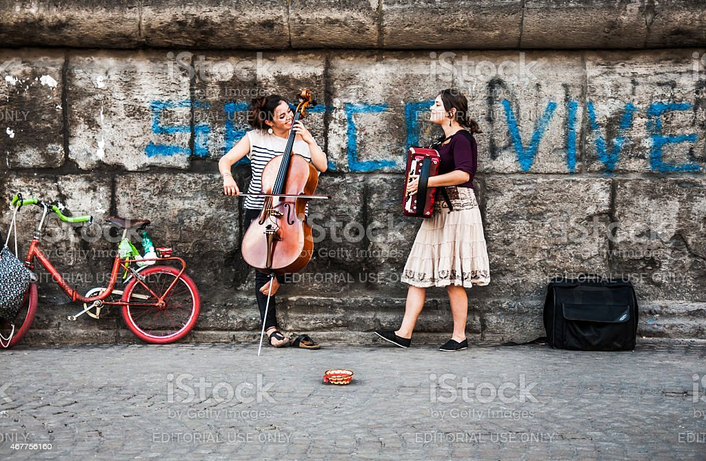 street music stock photo