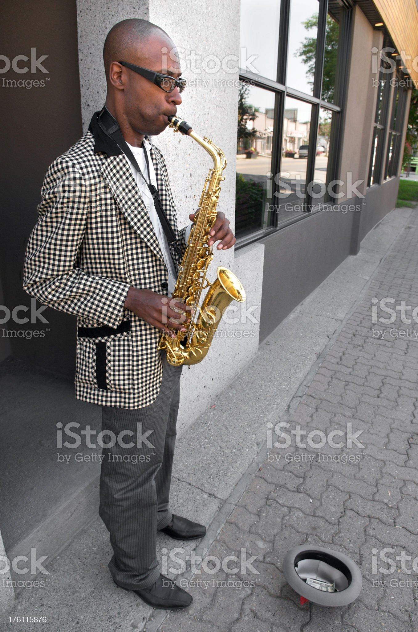 Street Musician royalty-free stock photo