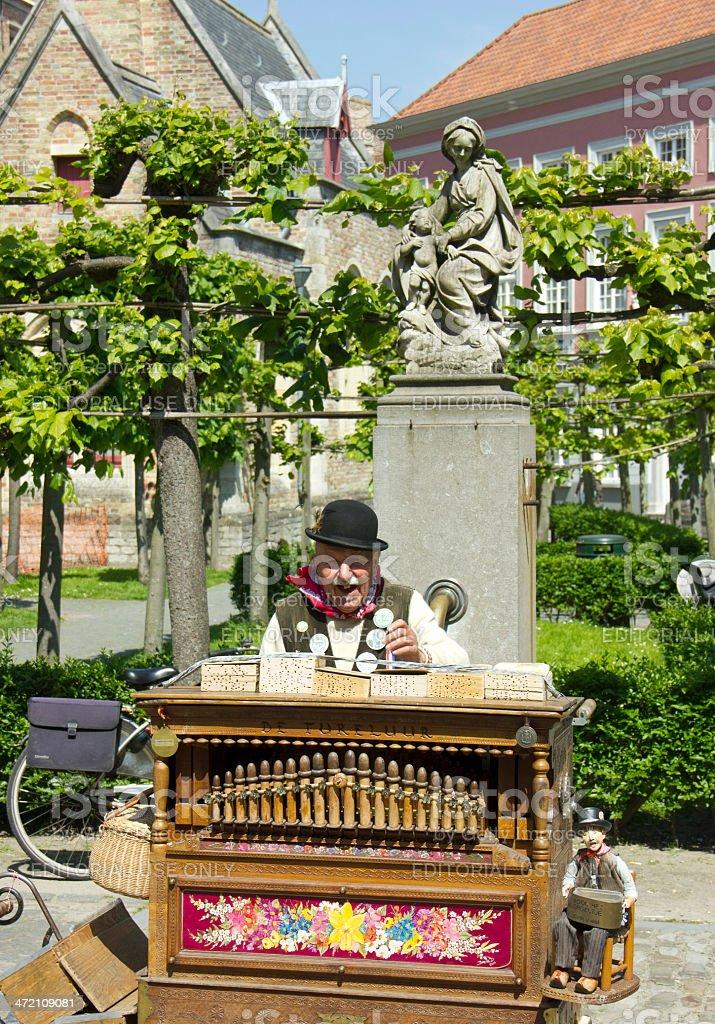 Street Musician stock photo