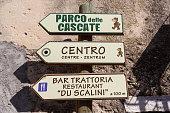 Street of Molina town, Italy