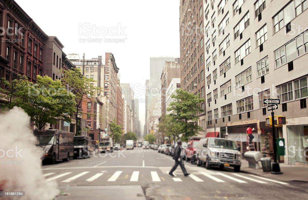 Street of New York City stock photo