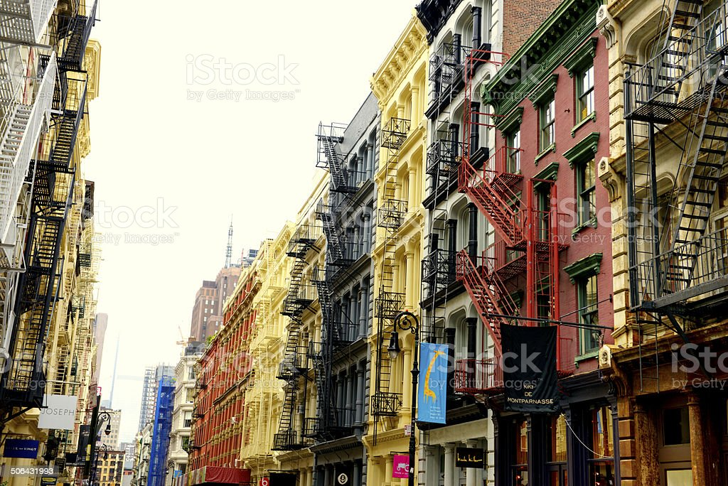 Street of NYC stock photo