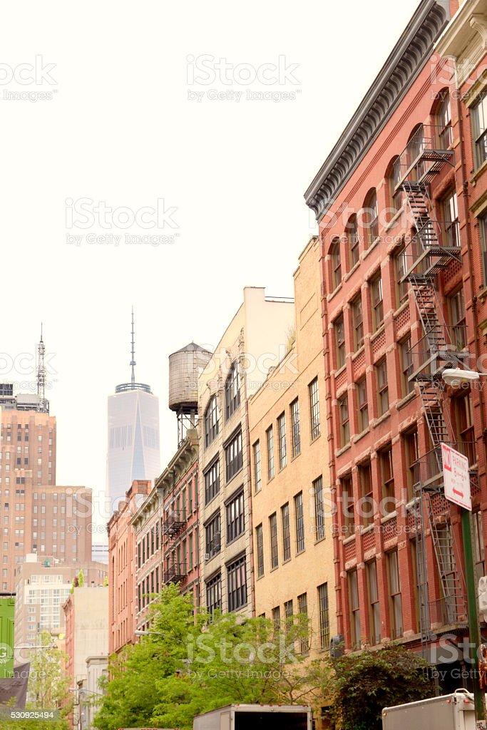 Street of NYC. stock photo