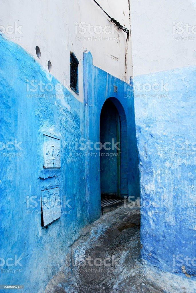 Street of Rabat stock photo